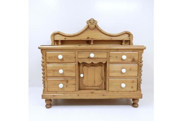 #Antique Victorian Pine Dresser | Vinterior London  #vintage #preloved #furniture #design
