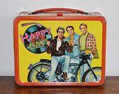 1976 Happy Days Lunch Box Lunchbox, Arthur Fonzie Fonzarelli Richie Cunningham Potsie, 1970s Pop Culture TV Show King Seeley Metal Lunch Box