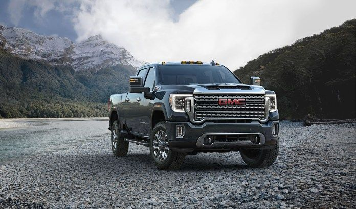 2020 Gmc Sierra Hd First Look Gmc Sierra Gmc Denali Gmc 2500