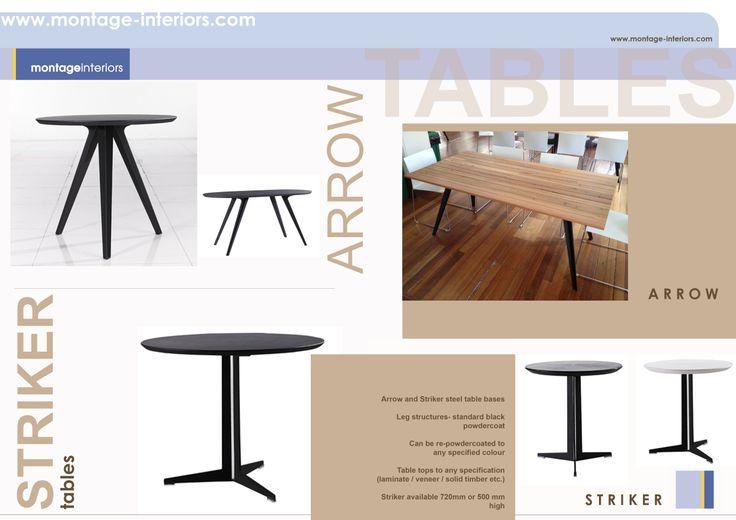 ARROW & STRIKER  tables