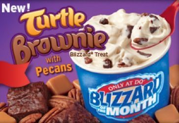 Dairy Queen Restaurant Copycat Recipes: Turtle Brownie Blizzard