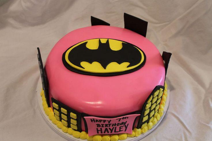 Batgirl Cake Birthday Cakes I ️ Birthdays Pinterest