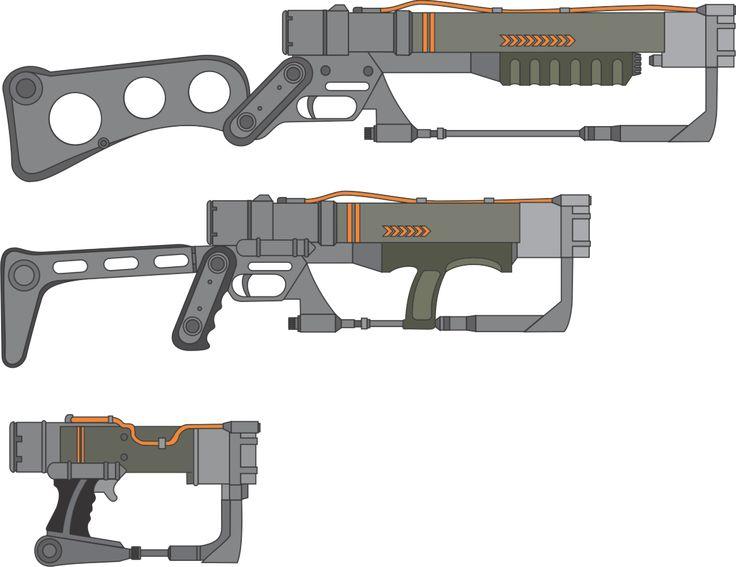 Resultado de imagen para fallout weapon concept art