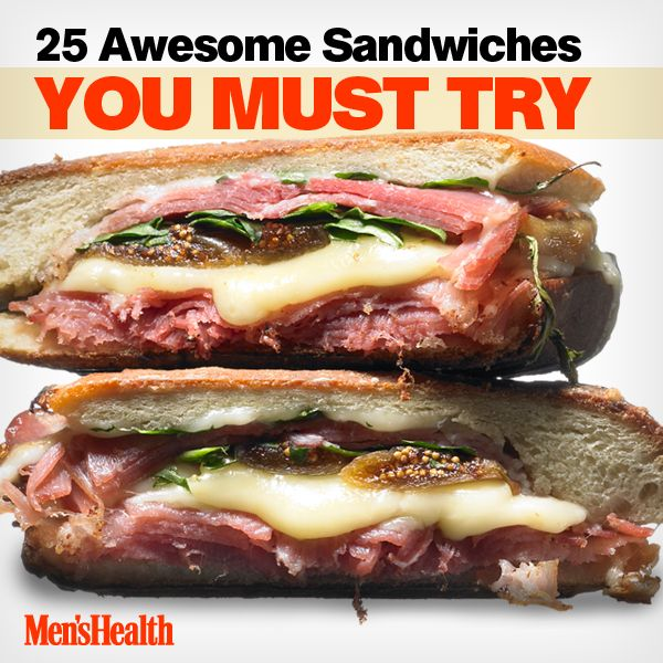 405 best mens health recipes images on pinterest health recipes 25 gourmet sandwiches for guys forumfinder Image collections