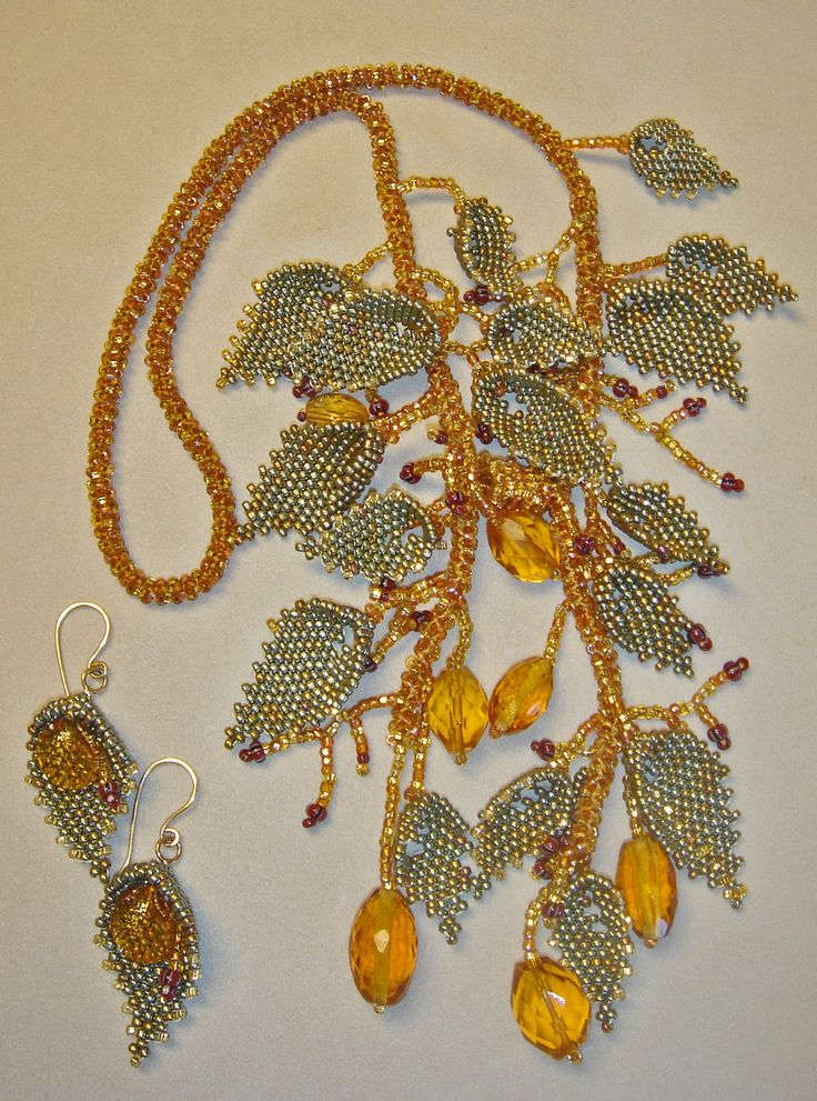 Vintage Crystal and Seed Beads