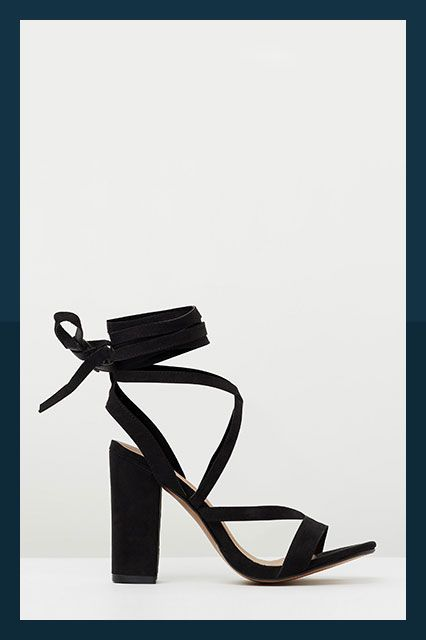 The Best Heels For Date Night & Beyond #refinery29  http://www.refinery29.com/best-fall-heel-trends#slide-7  The Lace-UpIt's all about the wrap-up heel right now. This black block style is pure sophistication. ...