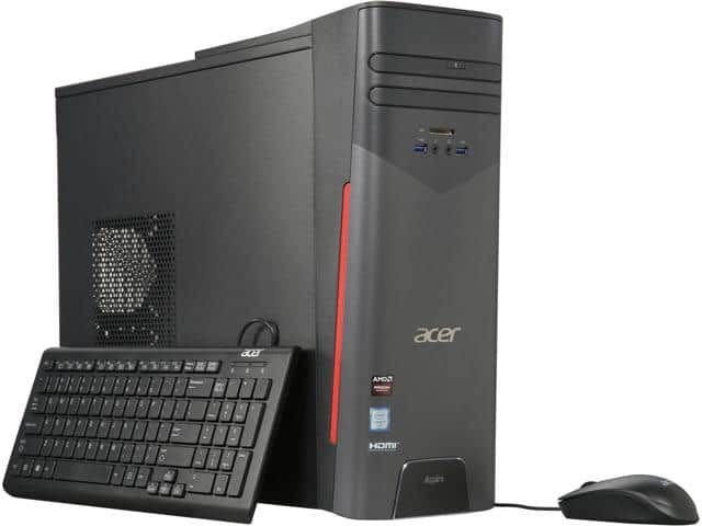 Acer Desktop Computer Aspire T AT3-715A-UR11 Newegg HOT Deals Today has the lowest price deal for Acer Desktop Computer Aspire T AT3-715A-UR11 Intel Core i7 $729. It usually retails for over $999, which makes this a HOT Deal and $149 cheaper than the next best available price.  Promo Code:...