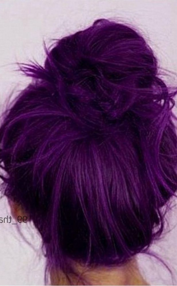38 Shades Of Purple Hair Color Ideas You Will Love Purple Hair Color Ideas These 38 Shades Of Purple Hair Color Hair Color Purple Purple Hair Dark Purple Hair