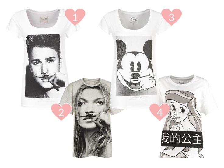 Schnäppchen der Woche #1: T-Shirts von Eleven Paris mit Justin Bieber, Mickey Mouse, Arielle und Kate Moss