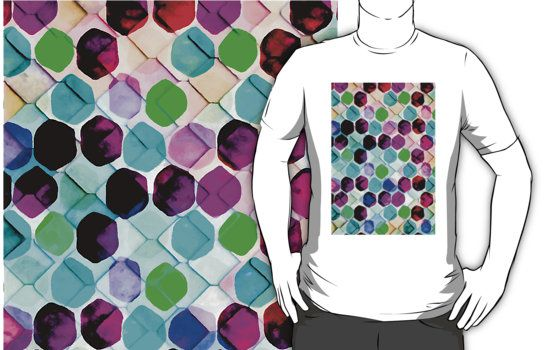 Irregular Hexagons #redbubble #lifestyle