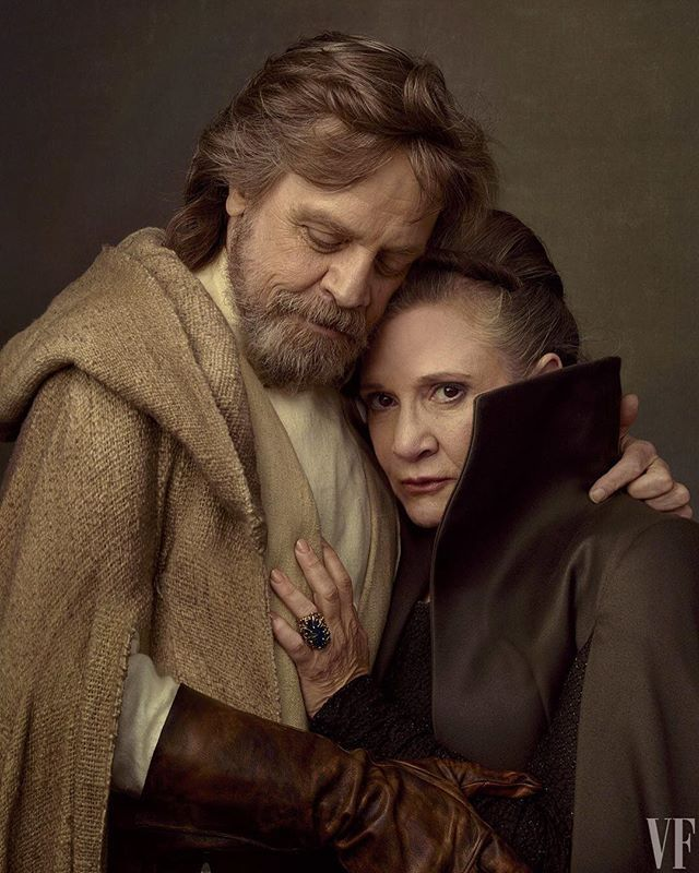 "40 years later and new #StarWars tidbits continue to emerge. It turns out Princess Leia got her Ph.D. at 19 while Luke was busy moping around his moisture farm. Understandably they needed an actress who could ""play with a lot of authority""and Carrie Fisher fit the bill. Read more about this Star Wars back story at the link in bio. Photograph by Annie Leibovitz.  via VANITY FAIR MAGAZINE OFFICIAL INSTAGRAM - Celebrity  Fashion  Politics  Advertising  Culture  Beauty  Editorial Photography…"