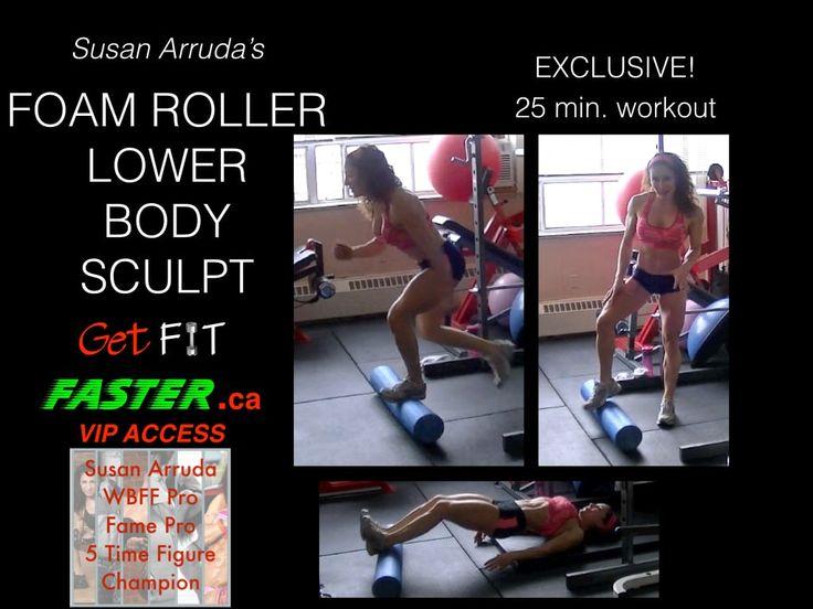Foam Roller - Lower Body Workout