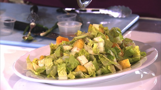 With honey lime dressing from extreme makeover weight loss edition