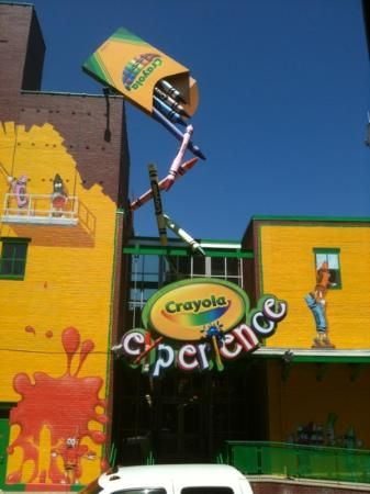 Crayola Experience, located in the heart of downtown Easton, Pennsylvania