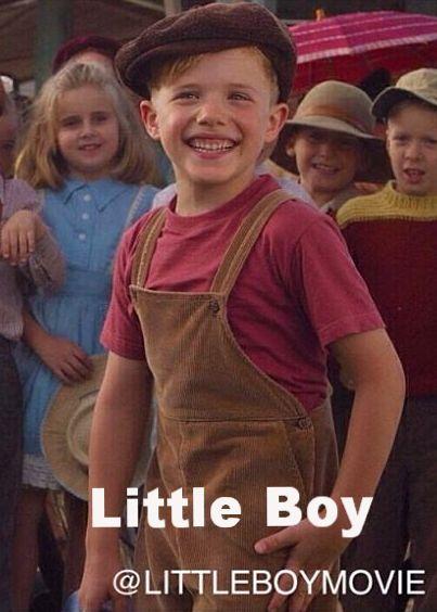 "Checkout the movie ""Little Boy"" on Christian Film Database: http://www.christianfilmdatabase.com/review/little-boy/"