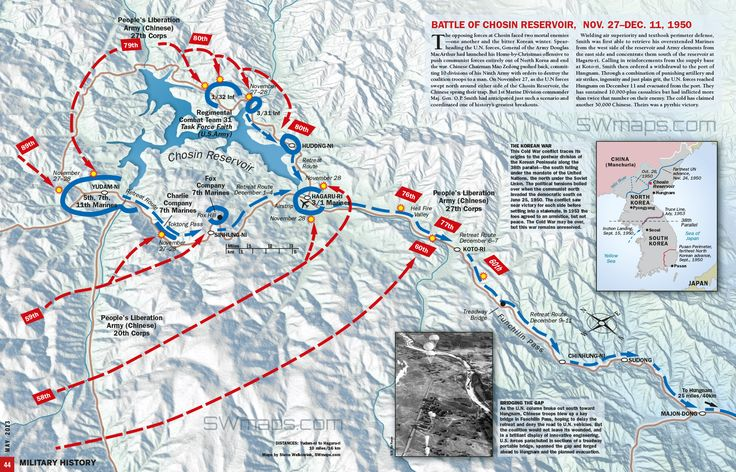 Chosin Reservoir and Terrain/Weather Essay Example ...