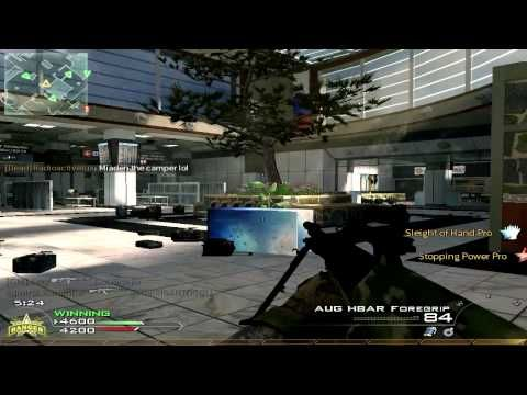 CoD Modern Warfare 2 Multiplayer Gameplay-AW HELL NAW