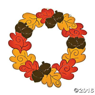 Fall Wreath Suncatchers* ad | affiliate link