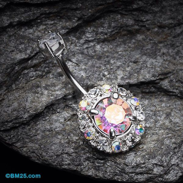 Aurora Sparkle Belly Button Ring by BM25Jewelry on Etsy https://www.etsy.com/listing/220583022/aurora-sparkle-belly-button-ring