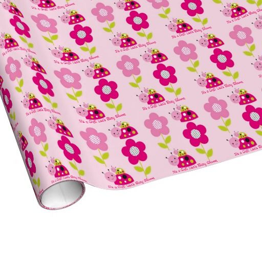 Ladybug Personalized Wrapping Paper