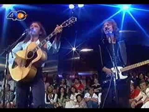 Bellamy Brothers sing 'Let Your Love Flow' on German TV, exact year unknown. This song always makes me happy.