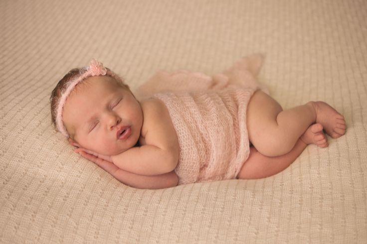 newborn in pink <3