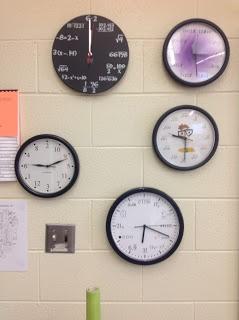 Equations Clock Activity