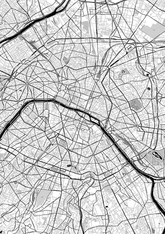 Cartography - Paris