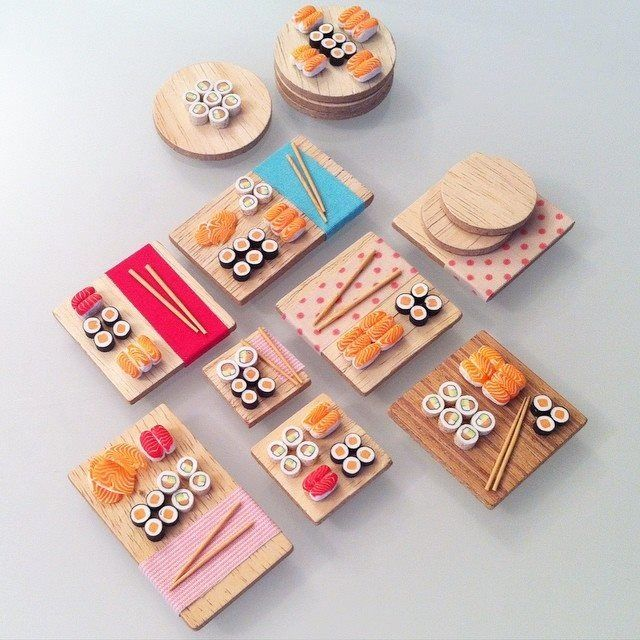 SUSHIS ! COMMANDEZ VOTRE PARURE GOURMANDE - Sugar Pop Creation : Parure par sugarpop-creation