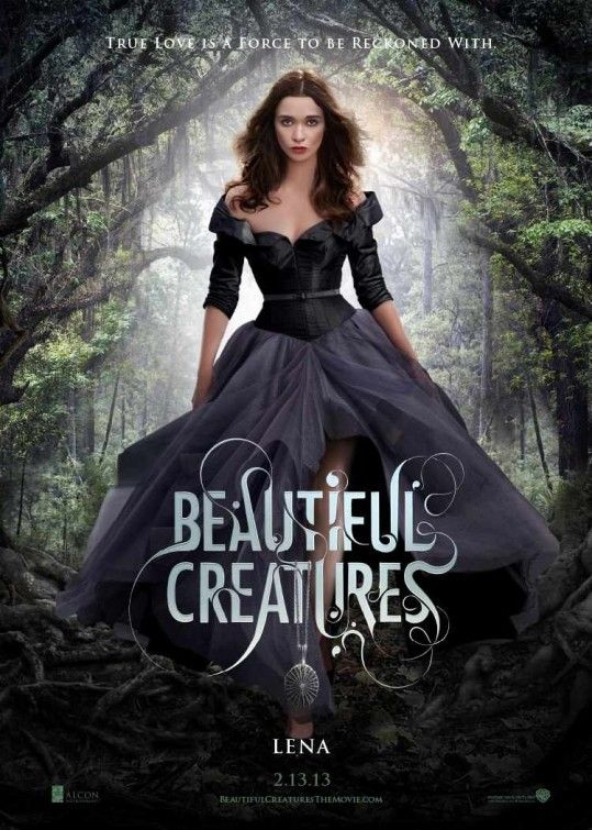 new BEAUTIFUL CREATURES movie posters Ethan and Lena Characters