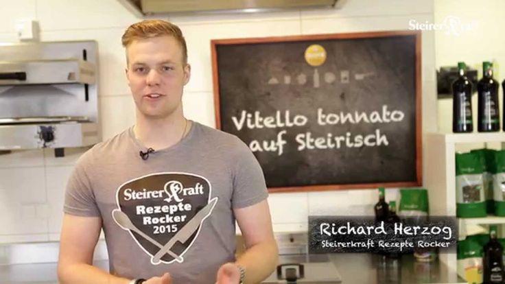 Vitello tonnato auf Steirisch Steirerkraft Rezepte Rocker 2015 - Richard...