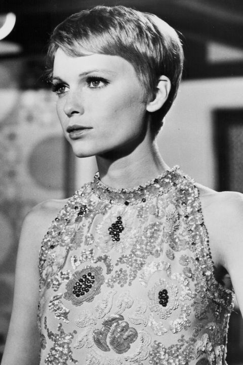 In honor of the actresses birthday yesterday, BAZAAR looks back at all of Mia Farrow's iconic moments: