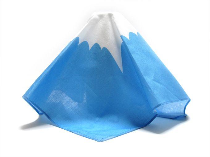 Mount Fuji handkerchief