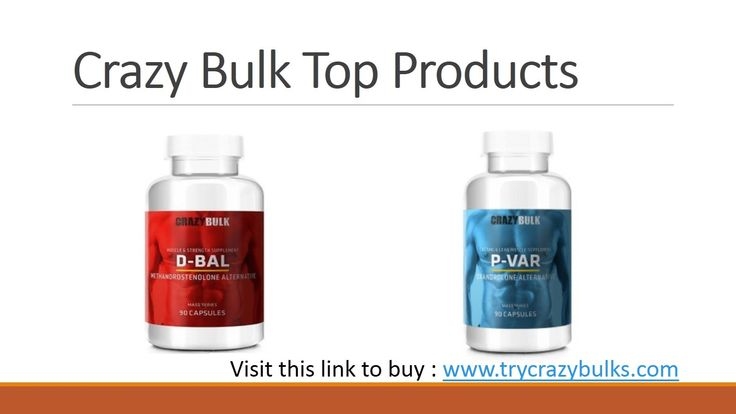 #Crazybulk Products