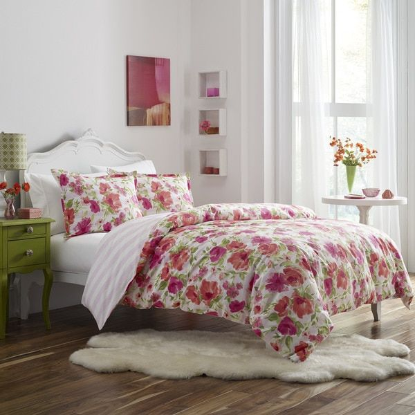 Poppy & Fritz Buffy Cotton 3-piece Comforter Set - 18146546 - Overstock.com Shopping - The Best Prices on Poppy & Fritz Teen Comforter Sets