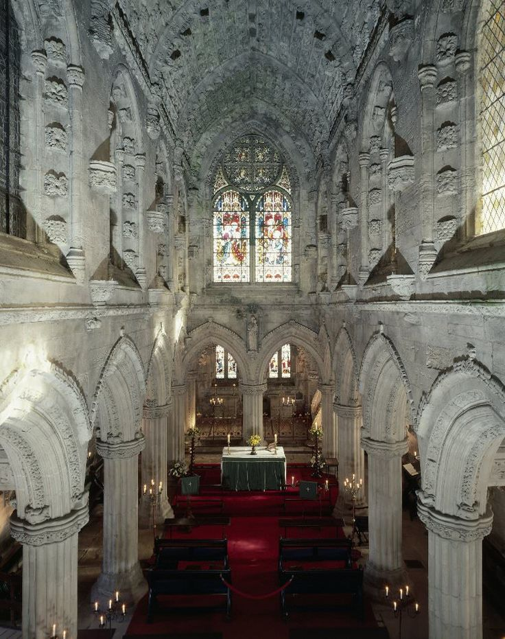 The success of Dan Brown's novel The Da Vinci Code and the subsequent Hollywood film has seen a flood of visitors descend on Scotland's most beautiful and enigmatic church – Rosslyn Chapel. And rightfully so -- the interior is completely mesmerizing in its rich architectural detail.