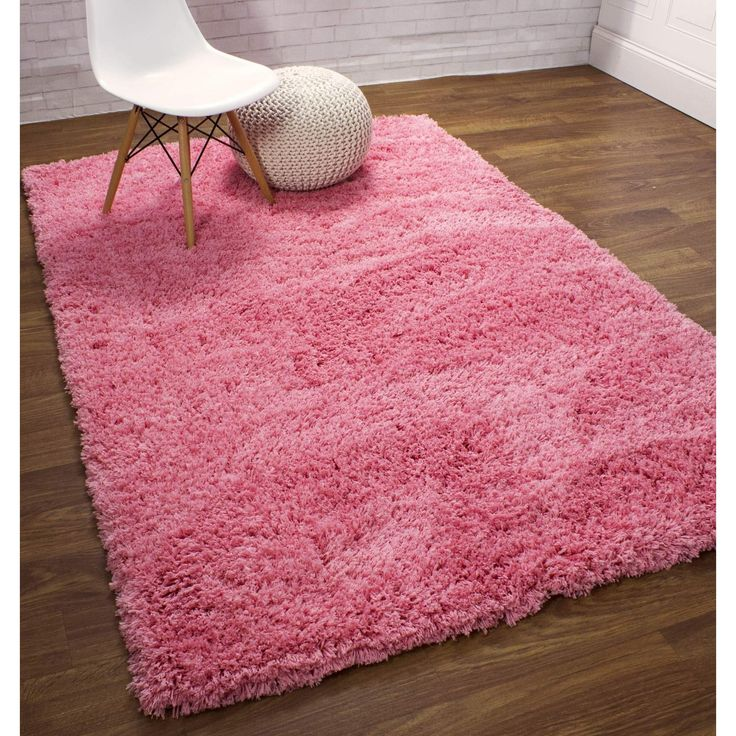 Shag Rug Light Pink High Quality Carpet Polyester  #rugs #decorating #decor #dreamhome #diy #floorcoverings #fab #arearugs #interiorstyling #homeideas
