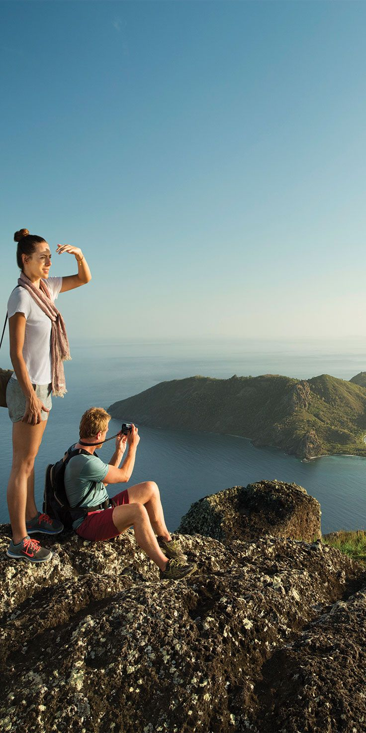 For the more adventurous, you can spend the day hiking and exploring Fiji