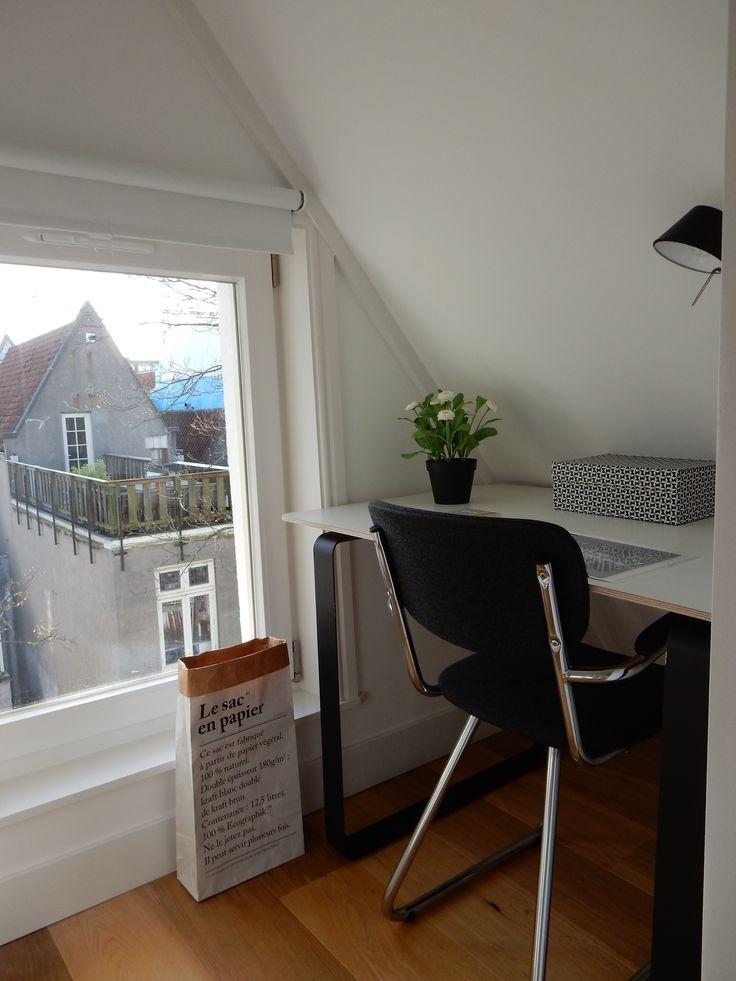 Apartment Amsterdam | Work & Office | www.mvwdesignstudio.com