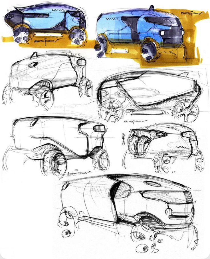 Kamaz (Russian truck manufacturer) truck concept