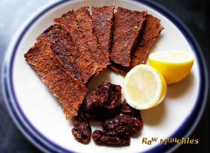 Raw Vegan Nut Free Sulphur Free Crackers   Rawmunchies.org  #RECIPE HERE: http://www.rawmunchies.org/recipes #Raw #vegan #rawvegan #glutenfree #rawcrackers #nutfree #nutfreecrackers