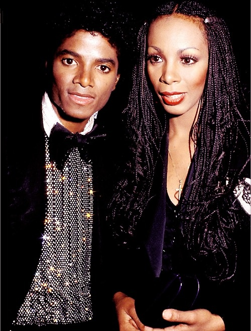 Michael Jackson and Donna Summer
