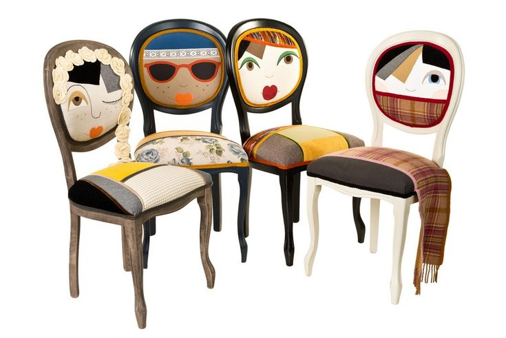 Quirky Characters Chair by Romanian Designer Irina Neacsu Picture 2