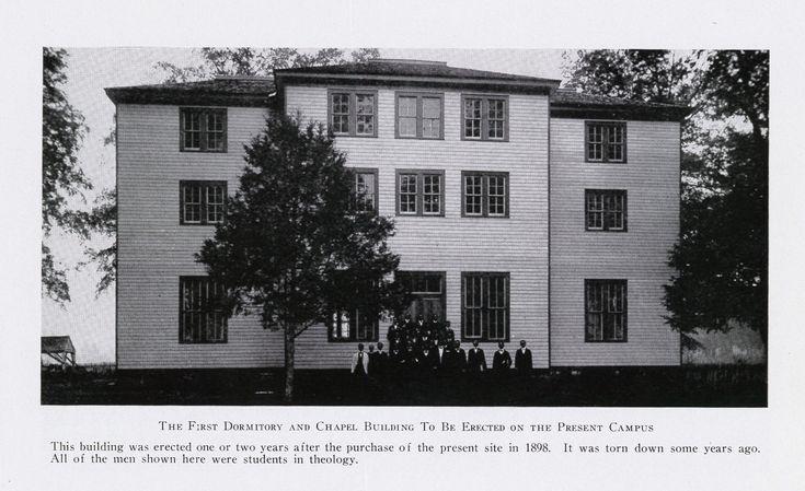 Stillman Institute theology students, about 1900. Hbcu