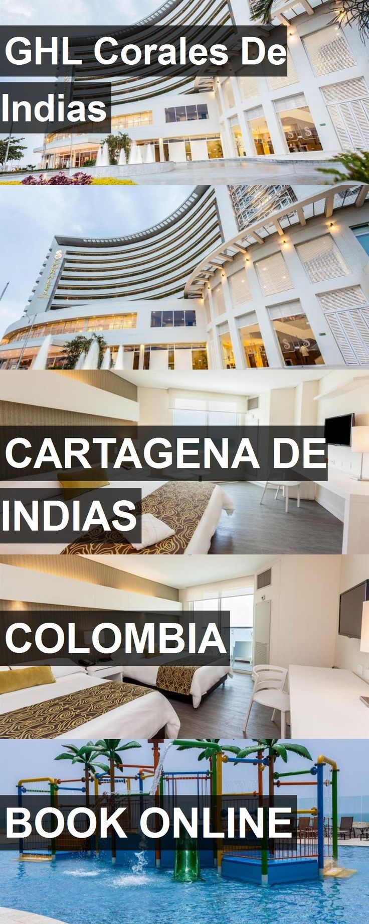 Hotel GHL Corales De Indias in Cartagena de Indias, Colombia. For more information, photos, reviews and best prices please follow the link. #Colombia #CartagenadeIndias #travel #vacation #hotel