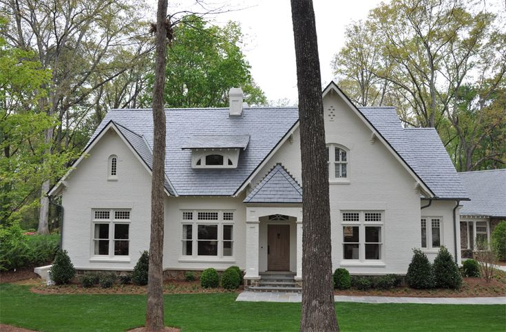 104 Best Houses Painted Brick Images On Pinterest
