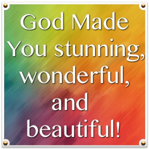 God Created Me Quotes: Inspire Me! - Inspirational Quotes & More