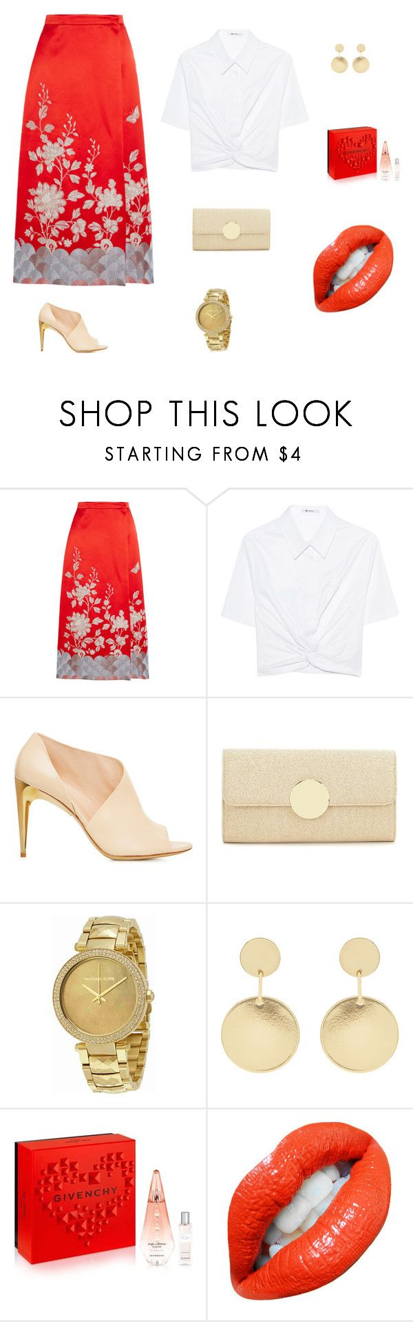"""арт директор"" by tukueva-zaira on Polyvore featuring мода, Gucci, T By Alexander Wang, Kate Landry, Michael Kors, Accessorize и Givenchy"