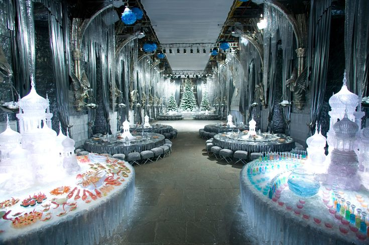 The Yule Ball Venue from Harry Potter And The Goblet of Fire would be perfect for my wedding reception!