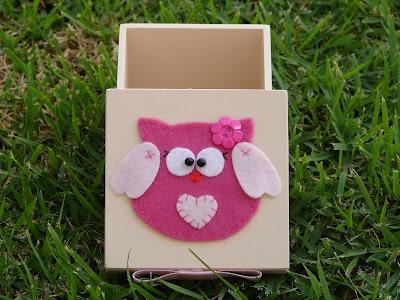 Bell'Arte - Arte em madeira e tecido: Caixinha para Lembrancinha de Maternidade ou Chá de Bebê